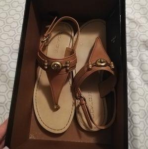 Coach sandles